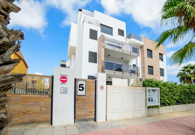 Appartement de vacances Geräumige 3-Zimmer-Wohnung mit Solarium, WIFI, A/C, Pool, Orihuela Costa, Bennecke Angel (1998327), Cabo Roig, Costa Blanca, Valence, Espagne, image 15