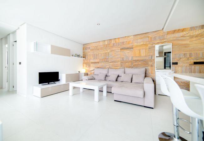 Appartement de vacances Geräumige 3-Zimmer-Wohnung mit Solarium, WIFI, A/C, Pool, Orihuela Costa, Bennecke Angel (1998327), Cabo Roig, Costa Blanca, Valence, Espagne, image 3