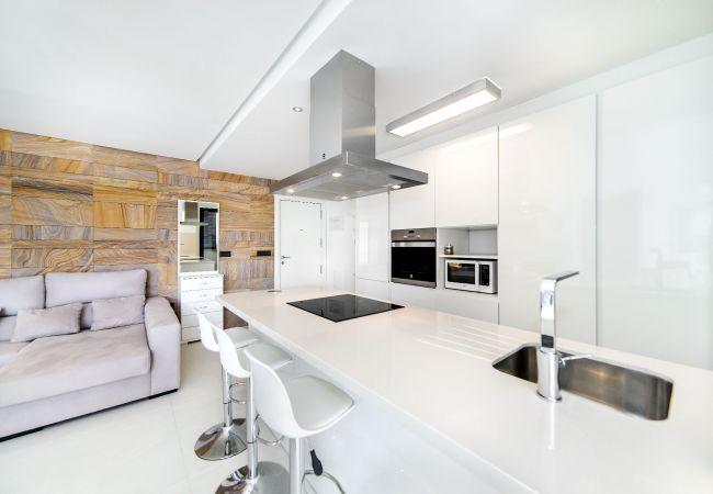Appartement de vacances Geräumige 3-Zimmer-Wohnung mit Solarium, WIFI, A/C, Pool, Orihuela Costa, Bennecke Angel (1998327), Cabo Roig, Costa Blanca, Valence, Espagne, image 7