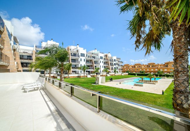Appartement de vacances Geräumige 3-Zimmer-Wohnung mit Solarium, WIFI, A/C, Pool, Orihuela Costa, Bennecke Angel (1998327), Cabo Roig, Costa Blanca, Valence, Espagne, image 11