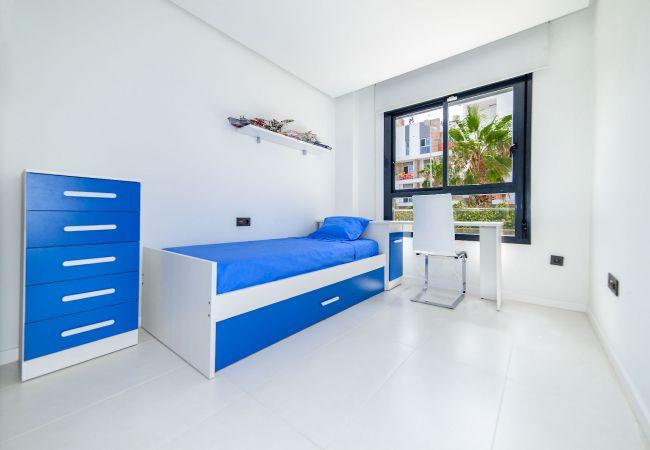 Appartement de vacances Geräumige 3-Zimmer-Wohnung mit Solarium, WIFI, A/C, Pool, Orihuela Costa, Bennecke Angel (1998327), Cabo Roig, Costa Blanca, Valence, Espagne, image 17