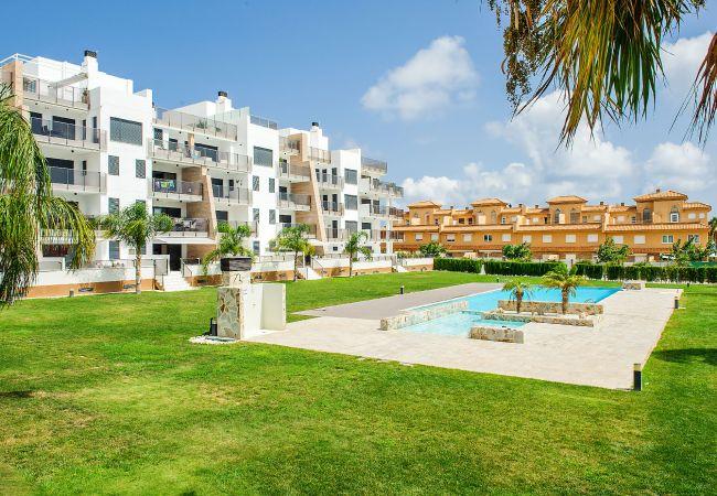 Appartement de vacances Geräumige 3-Zimmer-Wohnung mit Solarium, WIFI, A/C, Pool, Orihuela Costa, Bennecke Angel (1998327), Cabo Roig, Costa Blanca, Valence, Espagne, image 23