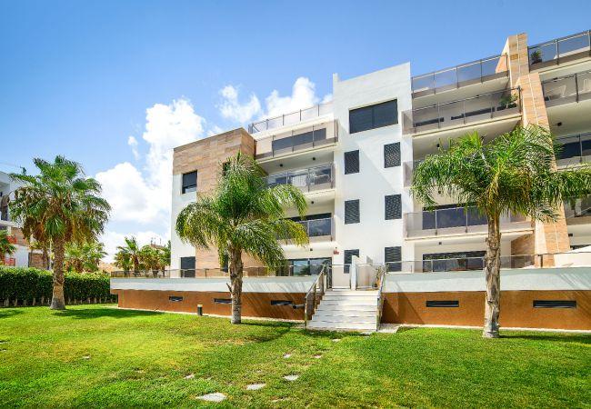 Appartement de vacances Geräumige 3-Zimmer-Wohnung mit Solarium, WIFI, A/C, Pool, Orihuela Costa, Bennecke Angel (1998327), Cabo Roig, Costa Blanca, Valence, Espagne, image 24