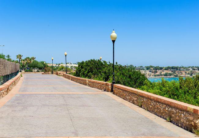 Appartement de vacances Geräumige 3-Zimmer-Wohnung mit Solarium, WIFI, A/C, Pool, Orihuela Costa, Bennecke Angel (1998327), Cabo Roig, Costa Blanca, Valence, Espagne, image 34