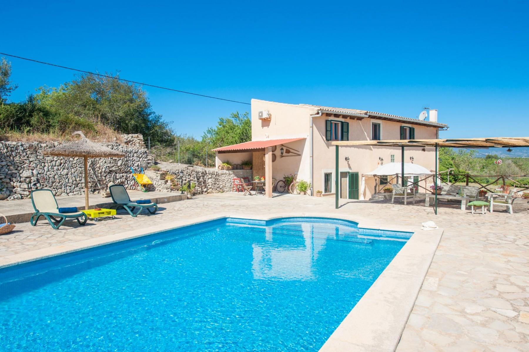 AVELLENER for 6 guests in Sencelles, Spain