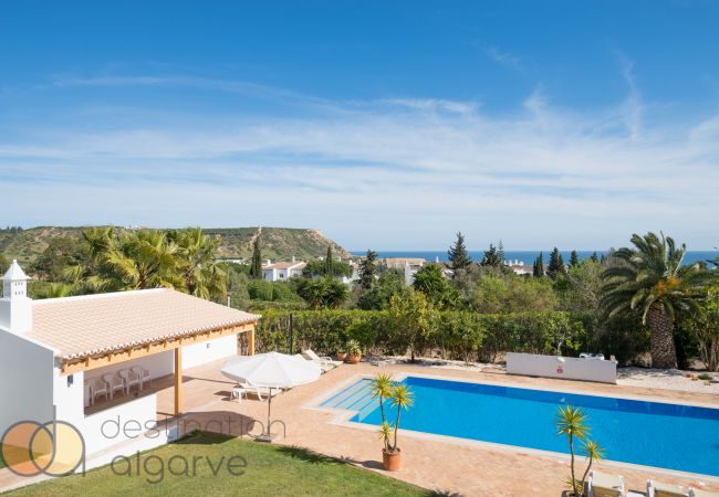 Ferienhaus Villa with free Wi-Fi | A/C | private heated pool | garden | near beach and town | sea vie (2182952), Luz, , Algarve, Portugal, Bild 5
