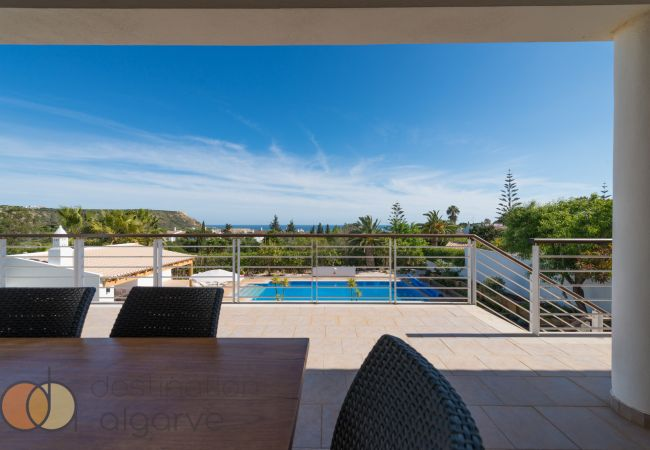 Ferienhaus Villa with free Wi-Fi | A/C | private heated pool | garden | near beach and town | sea vie (2182952), Luz, , Algarve, Portugal, Bild 7