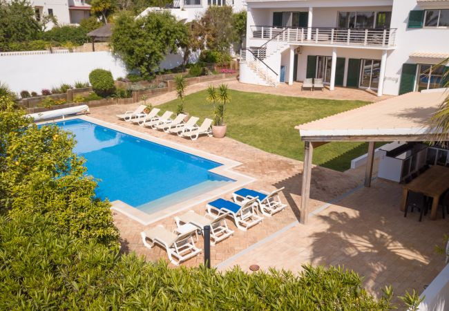 Ferienhaus Villa with free Wi-Fi | A/C | private heated pool | garden | near beach and town | sea vie (2182952), Luz, , Algarve, Portugal, Bild 20