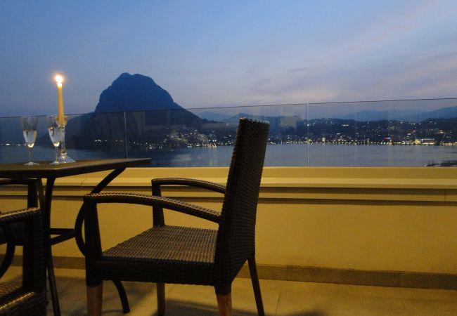Ferienwohnung Breathtaking View for a Romantic Stay (2035146), Castagnola, Lago di Lugano (CH), Tessin, Schweiz, Bild 13