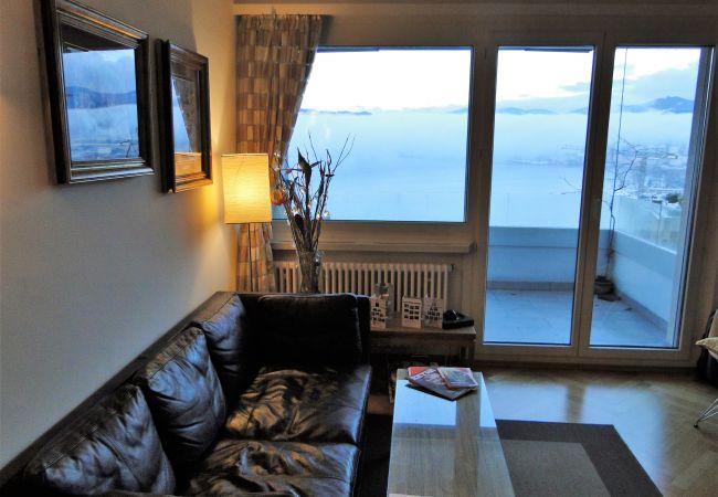 Ferienwohnung Breathtaking View for a Romantic Stay (2035146), Castagnola, Lago di Lugano (CH), Tessin, Schweiz, Bild 4
