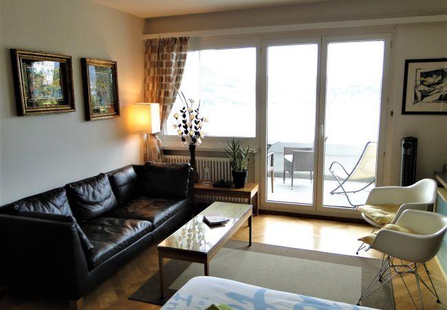 Ferienwohnung Breathtaking View for a Romantic Stay (2035146), Castagnola, Lago di Lugano (CH), Tessin, Schweiz, Bild 2
