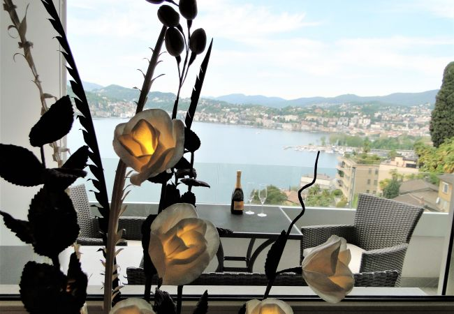 Ferienwohnung Breathtaking View for a Romantic Stay (2035146), Castagnola, Lago di Lugano (CH), Tessin, Schweiz, Bild 27