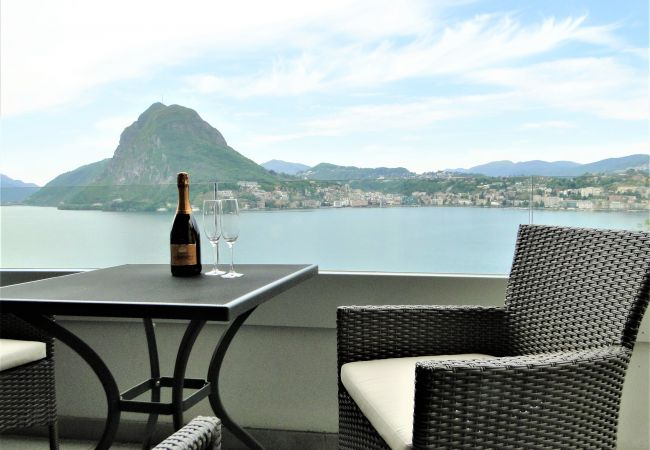 Ferienwohnung Breathtaking View for a Romantic Stay (2035146), Castagnola, Lago di Lugano (CH), Tessin, Schweiz, Bild 8