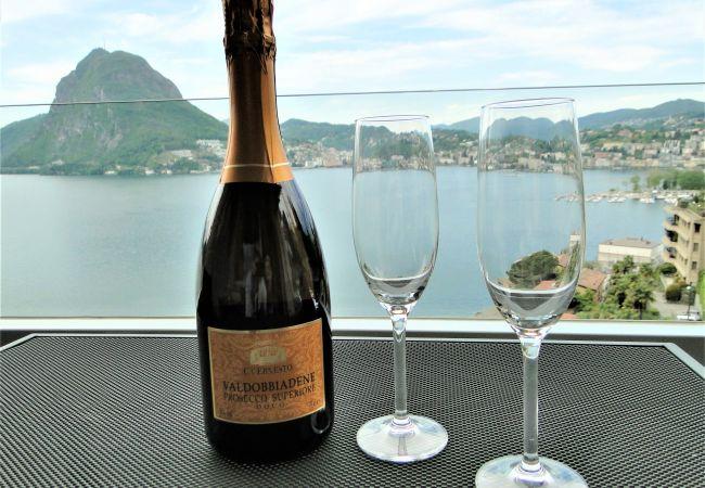 Ferienwohnung Breathtaking View for a Romantic Stay (2035146), Castagnola, Lago di Lugano (CH), Tessin, Schweiz, Bild 29