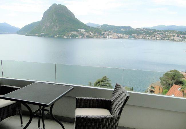 Ferienwohnung Breathtaking View for a Romantic Stay (2035146), Castagnola, Lago di Lugano (CH), Tessin, Schweiz, Bild 14