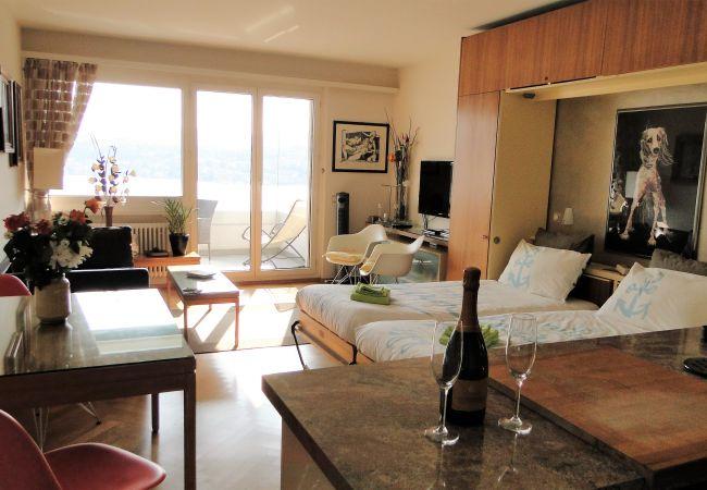 Ferienwohnung Breathtaking View for a Romantic Stay (2035146), Castagnola, Lago di Lugano (CH), Tessin, Schweiz, Bild 12