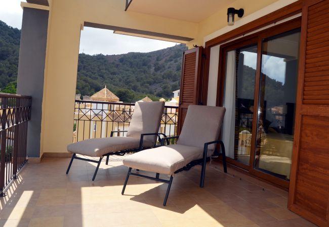 Appartement de vacances Großes Apartment auf zwei Etagen, 2 Balkone, kostenloses WLAN, Sat-TV (2033556), La Manga del Mar Menor, Costa Calida, Murcie, Espagne, image 9