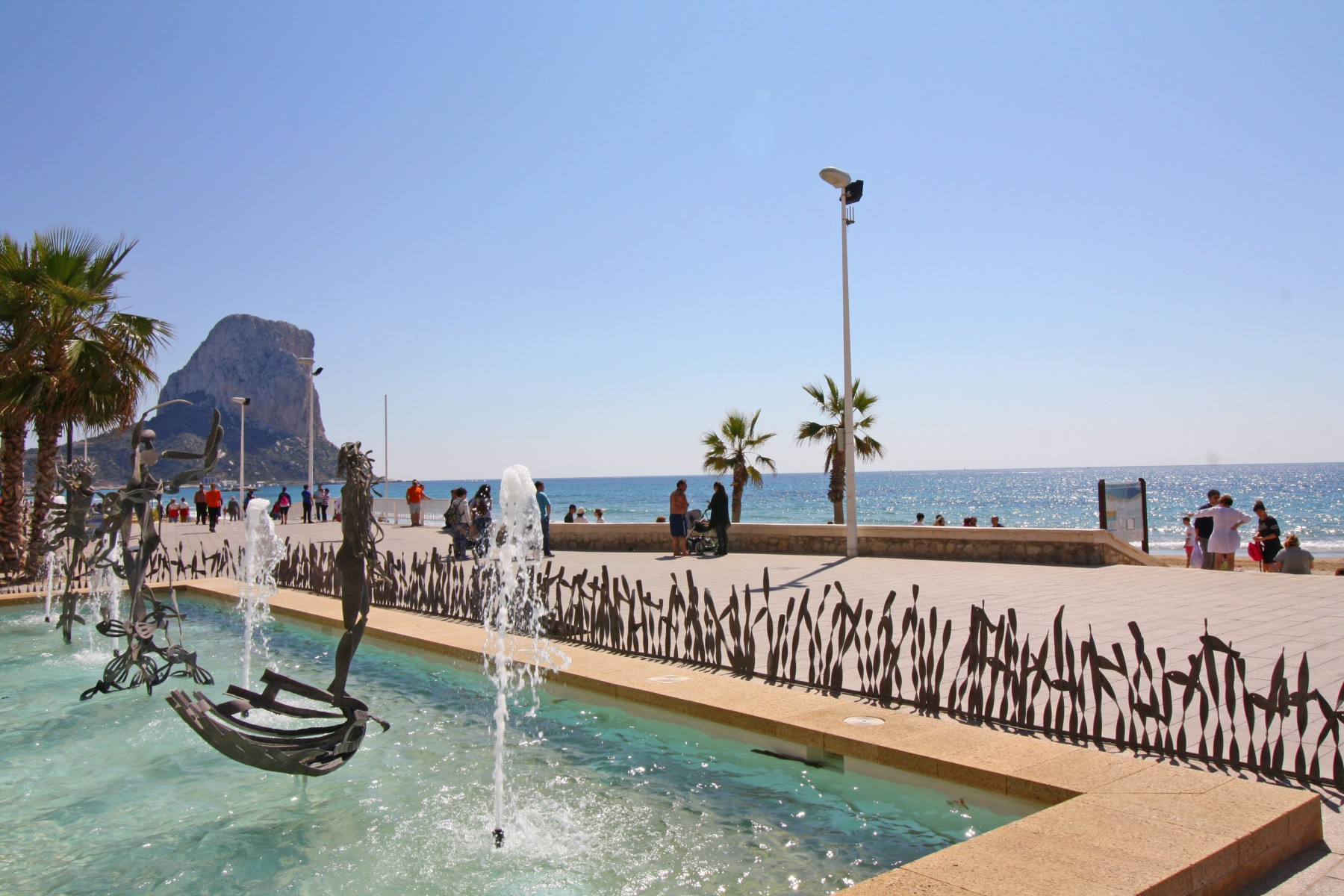 Albamar II for 5 guests in Calpe, Spanien