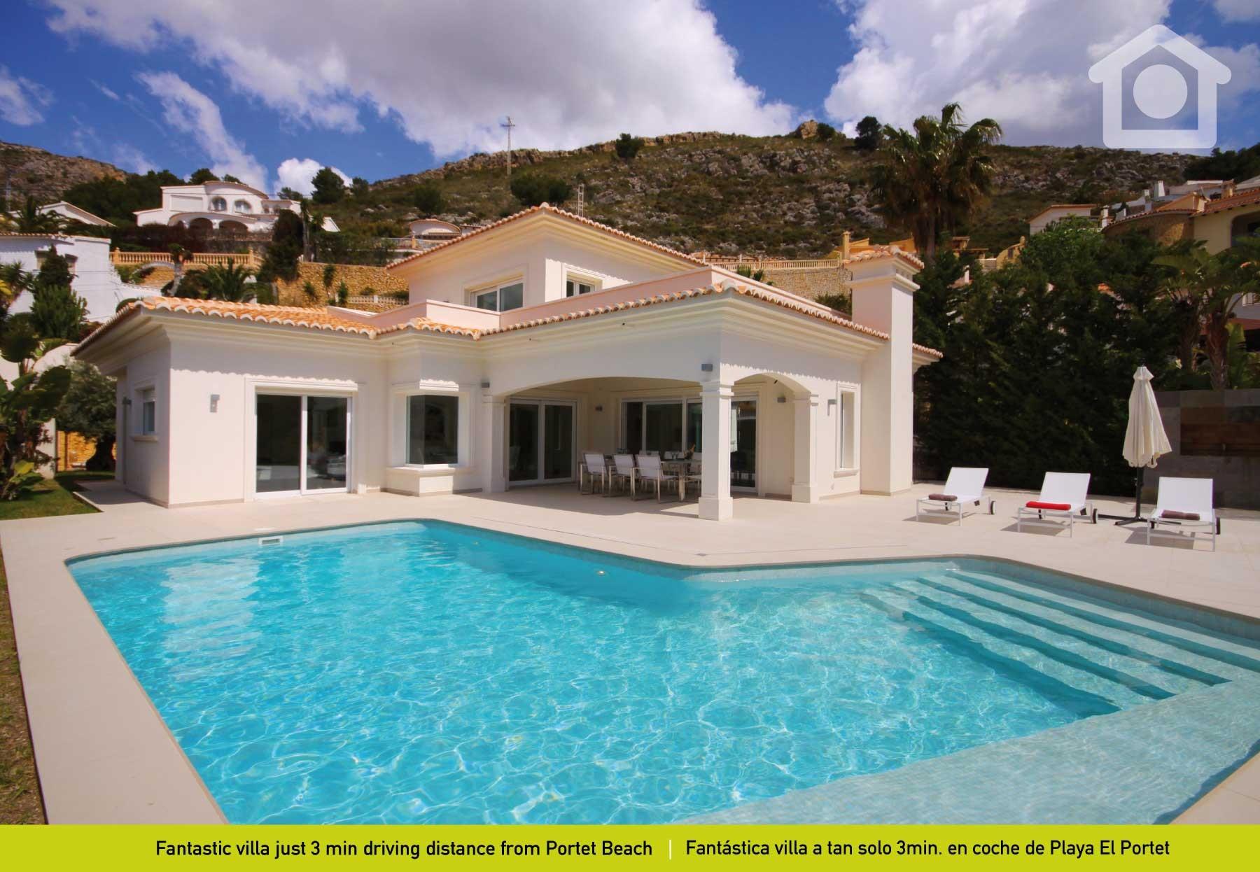 Solhabitat Moraira Portet for 8 guests in Moraira, Spanien