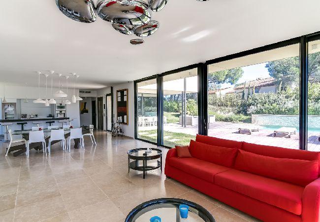 Ferienhaus Villa contemporaine proche plages de Saint-Tropez (2075236), Ramatuelle, Côte d'Azur, Provence - Alpen - Côte d'Azur, Frankreich, Bild 12