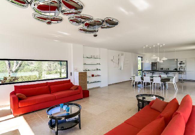 Ferienhaus Villa contemporaine proche plages de Saint-Tropez (2075236), Ramatuelle, Côte d'Azur, Provence - Alpen - Côte d'Azur, Frankreich, Bild 13