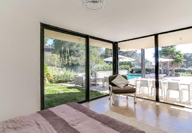 Ferienhaus Villa contemporaine proche plages de Saint-Tropez (2075236), Ramatuelle, Côte d'Azur, Provence - Alpen - Côte d'Azur, Frankreich, Bild 29
