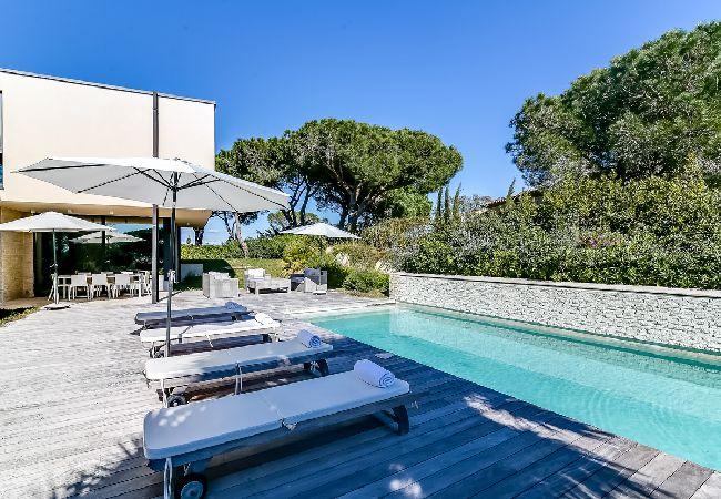 Ferienhaus Villa contemporaine proche plages de Saint-Tropez (2075236), Ramatuelle, Côte d'Azur, Provence - Alpen - Côte d'Azur, Frankreich, Bild 3