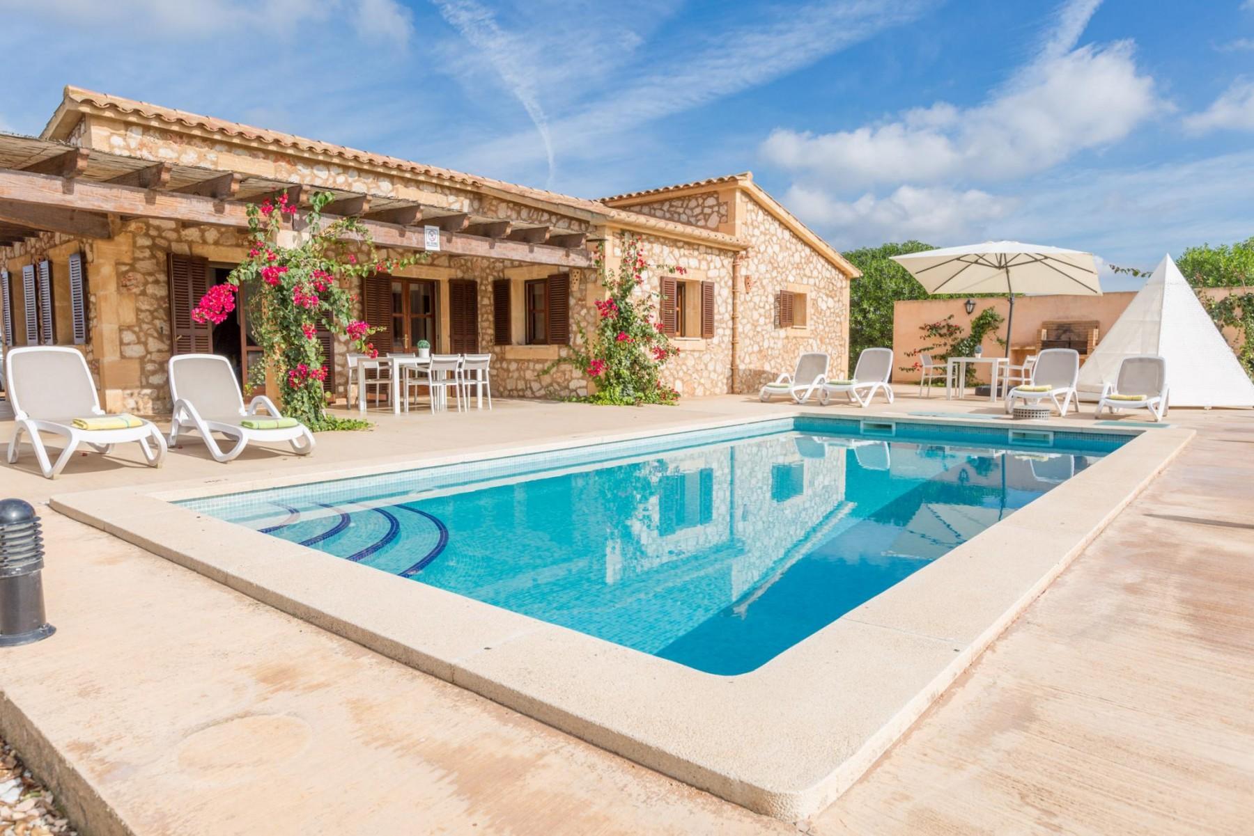 AMETLLER - 0406 for 7 guests in Felanitx, Spanien