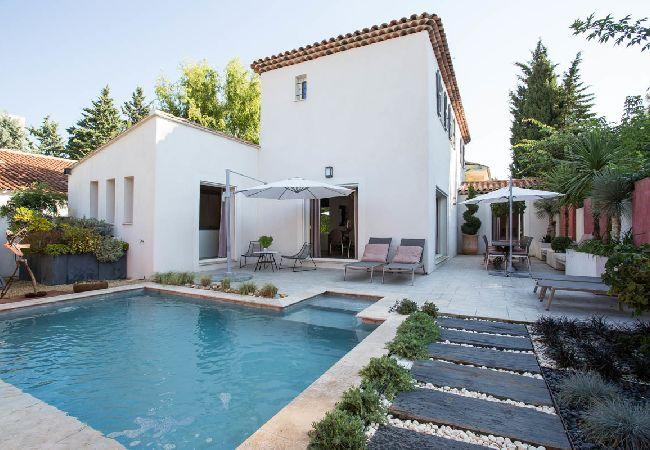 Ferienhaus Maison avec piscine proche centre ville (2194858), Aix en Provence, Bouches-du-Rhône, Provence - Alpen - Côte d'Azur, Frankreich, Bild 2