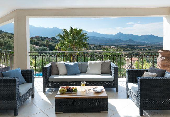 Ferienhaus Villa vue mer panoramique près de Calvi (2194935), Lumio, Nordkorsika, Korsika, Frankreich, Bild 6