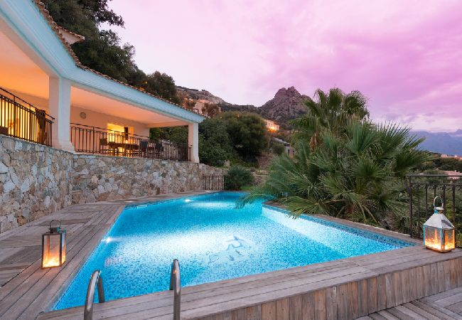 Ferienhaus Villa vue mer panoramique près de Calvi (2194935), Lumio, Nordkorsika, Korsika, Frankreich, Bild 7