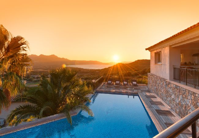 Ferienhaus Villa vue mer panoramique près de Calvi (2194935), Lumio, Nordkorsika, Korsika, Frankreich, Bild 8