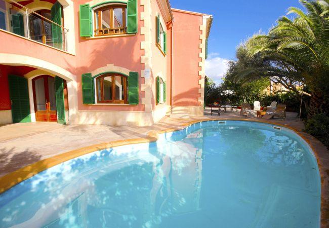 Espectacular Villa frente al mar en Sa Rápita