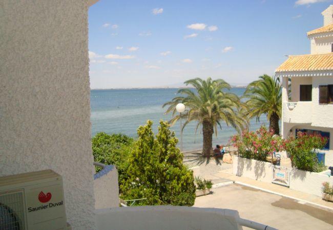 Maison de vacances Familienhaus mit Meerblick, in der Nähe des Meeres, gratis WiFi, Terrasse. (2073620), La Manga del Mar Menor, Costa Calida, Murcie, Espagne, image 1