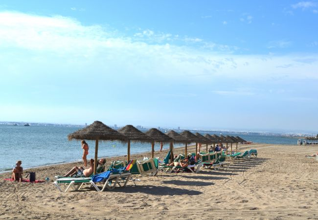 Maison de vacances Familienhaus mit Meerblick, in der Nähe des Meeres, gratis WiFi, Terrasse. (2073620), La Manga del Mar Menor, Costa Calida, Murcie, Espagne, image 10