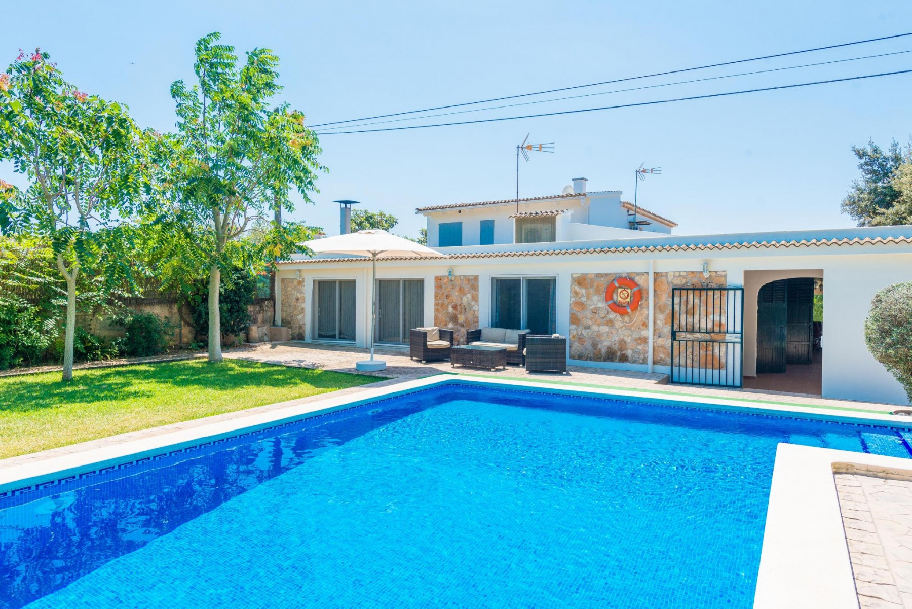 S'AMAGATALL for 6 guests in Muro, Spanien