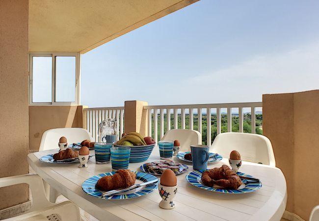 Appartement de vacances Apart. mit Meerblick 2. Stock, gratis WiFi, Gemeinschaftspool, Tennis (2069735), La Manga del Mar Menor, Costa Calida, Murcie, Espagne, image 3