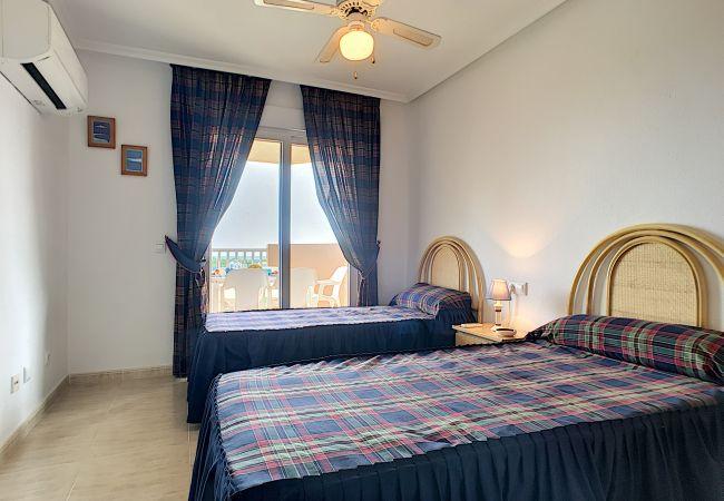 Appartement de vacances Apart. mit Meerblick 2. Stock, gratis WiFi, Gemeinschaftspool, Tennis (2069735), La Manga del Mar Menor, Costa Calida, Murcie, Espagne, image 9