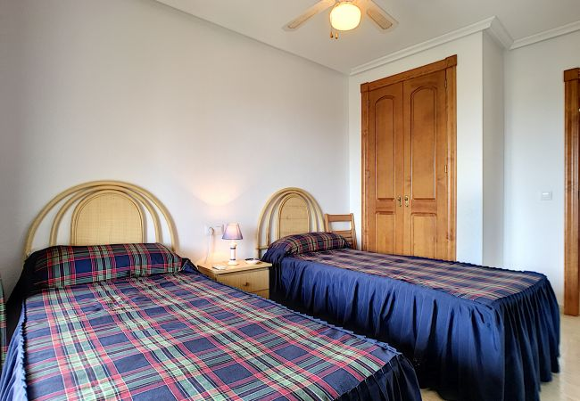 Appartement de vacances Apart. mit Meerblick 2. Stock, gratis WiFi, Gemeinschaftspool, Tennis (2069735), La Manga del Mar Menor, Costa Calida, Murcie, Espagne, image 10