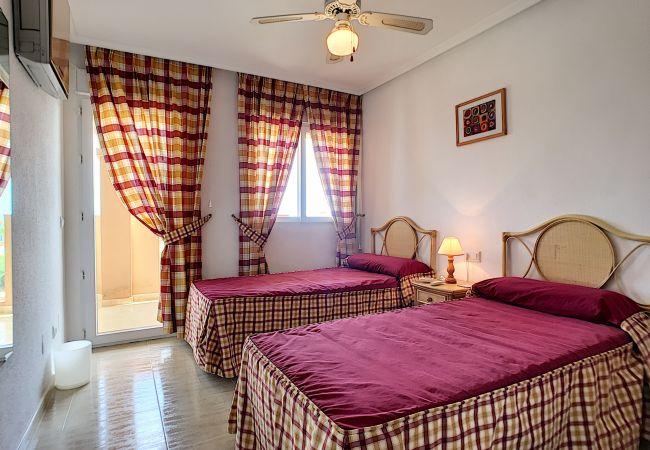 Appartement de vacances Apart. mit Meerblick 2. Stock, gratis WiFi, Gemeinschaftspool, Tennis (2069735), La Manga del Mar Menor, Costa Calida, Murcie, Espagne, image 11