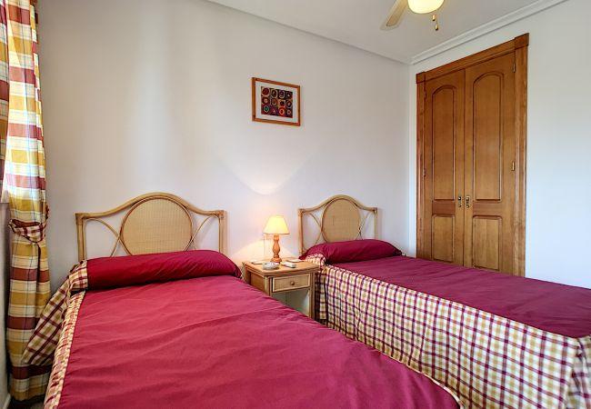 Appartement de vacances Apart. mit Meerblick 2. Stock, gratis WiFi, Gemeinschaftspool, Tennis (2069735), La Manga del Mar Menor, Costa Calida, Murcie, Espagne, image 12
