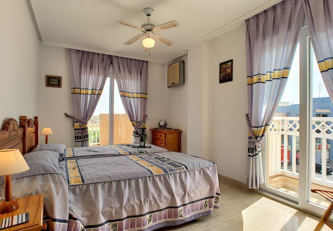 Appartement de vacances Apart. mit Meerblick 2. Stock, gratis WiFi, Gemeinschaftspool, Tennis (2069735), La Manga del Mar Menor, Costa Calida, Murcie, Espagne, image 4