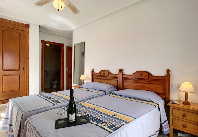Appartement de vacances Apart. mit Meerblick 2. Stock, gratis WiFi, Gemeinschaftspool, Tennis (2069735), La Manga del Mar Menor, Costa Calida, Murcie, Espagne, image 5