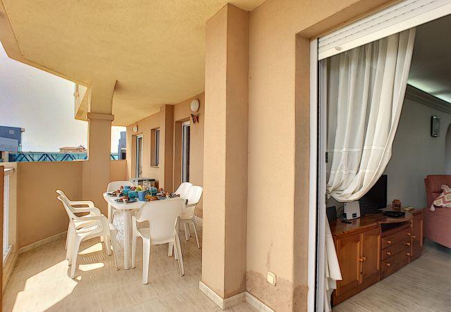 Appartement de vacances Apart. mit Meerblick 2. Stock, gratis WiFi, Gemeinschaftspool, Tennis (2069735), La Manga del Mar Menor, Costa Calida, Murcie, Espagne, image 16