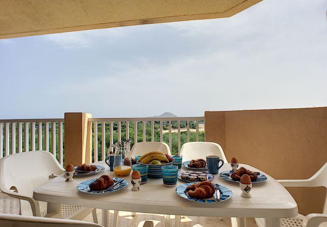 Appartement de vacances Apart. mit Meerblick 2. Stock, gratis WiFi, Gemeinschaftspool, Tennis (2069735), La Manga del Mar Menor, Costa Calida, Murcie, Espagne, image 17