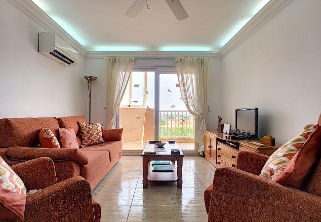 Appartement de vacances Apart. mit Meerblick 2. Stock, gratis WiFi, Gemeinschaftspool, Tennis (2069735), La Manga del Mar Menor, Costa Calida, Murcie, Espagne, image 6