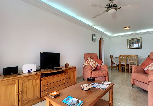 Appartement de vacances Apart. mit Meerblick 2. Stock, gratis WiFi, Gemeinschaftspool, Tennis (2069735), La Manga del Mar Menor, Costa Calida, Murcie, Espagne, image 7