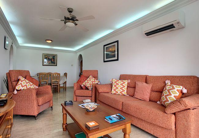 Appartement de vacances Apart. mit Meerblick 2. Stock, gratis WiFi, Gemeinschaftspool, Tennis (2069735), La Manga del Mar Menor, Costa Calida, Murcie, Espagne, image 18