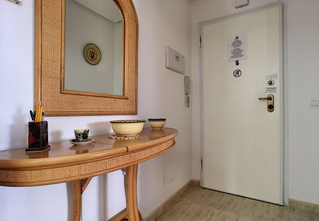 Appartement de vacances Apart. mit Meerblick 2. Stock, gratis WiFi, Gemeinschaftspool, Tennis (2069735), La Manga del Mar Menor, Costa Calida, Murcie, Espagne, image 19