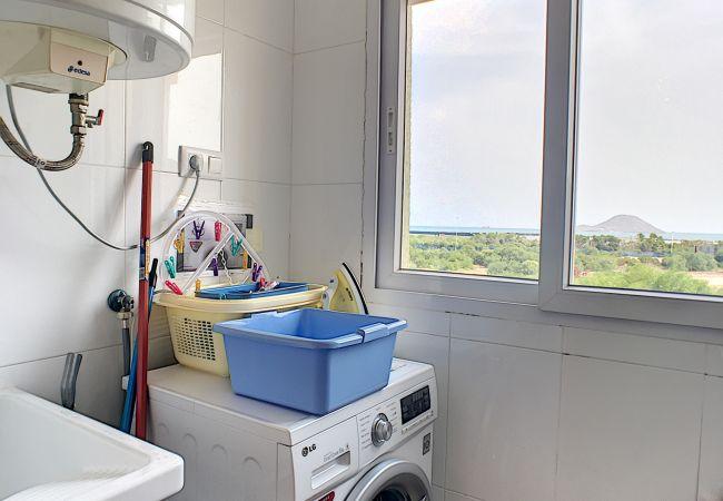 Appartement de vacances Apart. mit Meerblick 2. Stock, gratis WiFi, Gemeinschaftspool, Tennis (2069735), La Manga del Mar Menor, Costa Calida, Murcie, Espagne, image 24